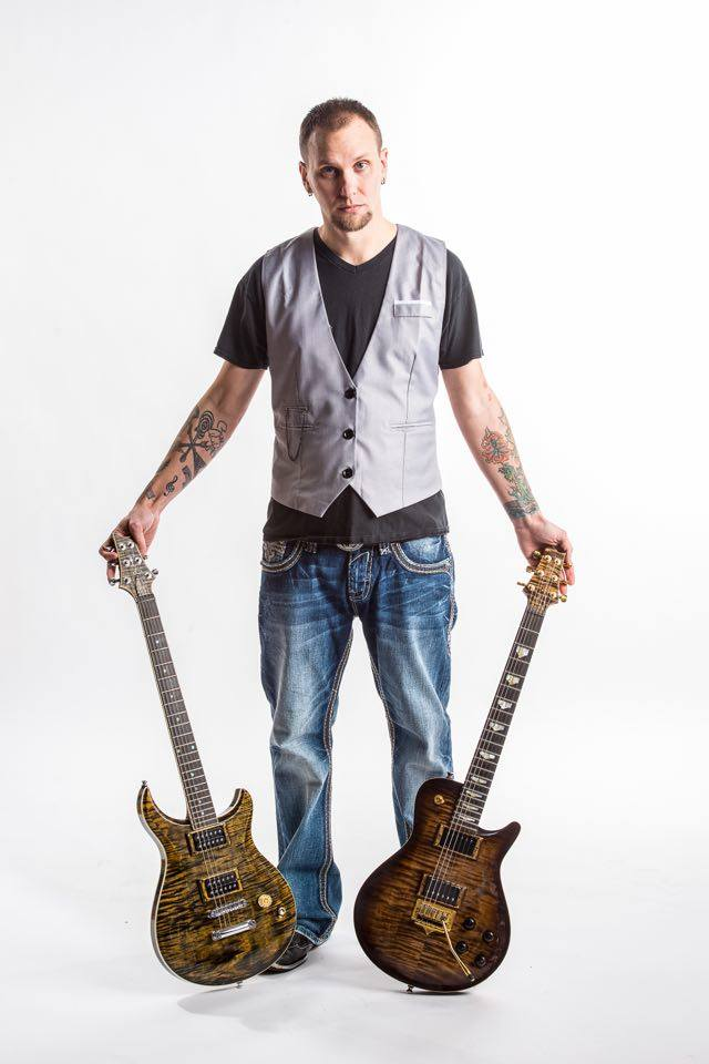 Paul Nims With King Blossom Guitars