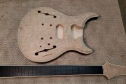 F Hole Guitar custom Made by Jeff Figley of King Blossom Guitars