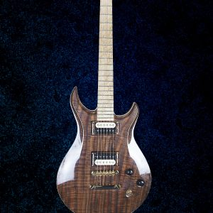 Model 1M Hollow Body King Blossom Custom Guitars