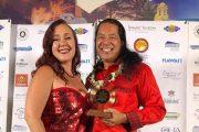 Congratulations Halemanu and Lisa - Most promising new artist Hawaii Na-Hoku awards